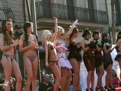 desfile feria de comercio